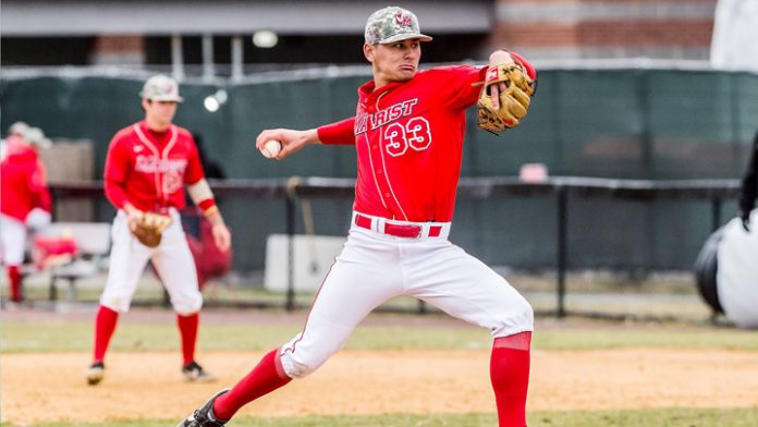 Ryan Cardona closed out the game strong on the mound and the Red Foxes completed the series sweep.