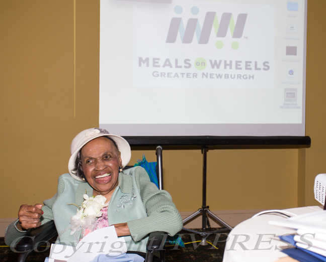 Meals on Wheels of Greater Newburgh founder, Frederica Warner died last Tuesday at the age of 101.Hudson Valley Press File/CHUCK STEWART, JR.