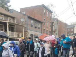Habitat for Humanity of Greater Newburgh held its annual Walk for Housing on Sunday, April 28 to commemorate the 20th anniversary of the organization.