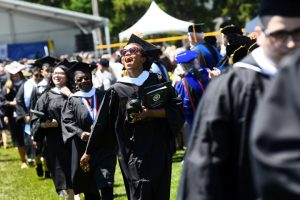Mount Saint Mary College's 56th Annual Commencement Ceremony on May 18, 2019. Photo: Lee Ferris