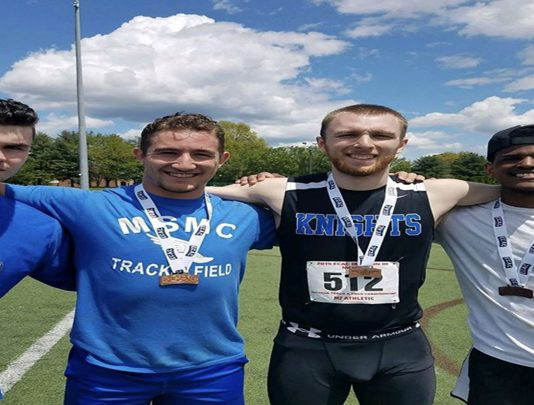 The Mount Saint Mary College Men's Outdoor Track and Field team wrapped up its season with an 11th place finish at the ECAC Championship meet on Thursday evening.