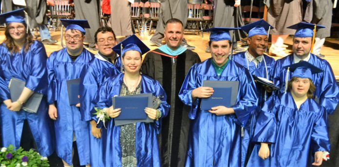 Dutchess Community College's 60th commencement ceremony celebrated the achievements of 1,030 students.