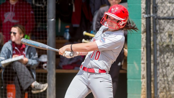 The Marist softball team clinched the #1 seed in next week's Metro Atlantic Athletic Conference Championship, and a share of the MAAC regular-season title on Sunday.