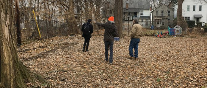 Kingston Land Trust purchased the Pine Street African Burial Ground in uptown Kingston.
