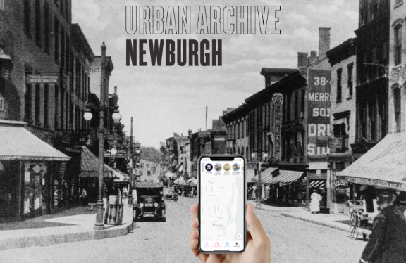 Launched on June 1, 2019, Newburgh is the first expansion for Urban Archive outside of New York City. Urban Archive, a technology non-profit, had their start in 2016 working with three institutional partners and only a few hundred archival photographs. Photo: Newburgh Free Library