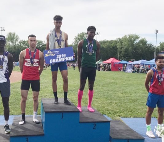 NFA's Ryler Gould holds national record.