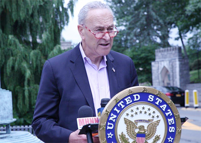 Senator Charles Schumer, who came to West Point earlier in July to announce his push for the funding, said the bill will provide for remediation of mold, failing water systems and other problems in military housing.