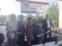 On Tuesday night, Fresenius Kidney Care opened its brand new site, located in Wappingers Falls, across from Dutchess Stadium. Now, more local patients will be able to do home hemo dialysis using the facility's machines in their own homes after being trained and empowered at the site.