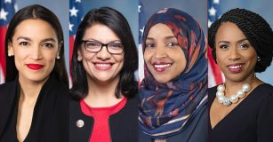 President Donald Trump went on a racist screed on Twitter and attacked Democratic congresswomen of color and their ancestry.