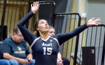 Led by Preseason All-Patriot League selection and senior captain Courtney Horace, the Army West Point volleyball team closed out the preseason with its annual team scrimmage on Saturday.