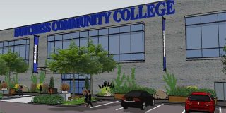Dutchess Community College will be moving its southern Dutchess campus from Myers Corners Road in Wappingers Falls to the former JW Mays department store building in the old Dutchess Mall on Route 9 in the Town of Fishkill. Pictured above is a architect rendering of the Route 9 Fishkill campus.