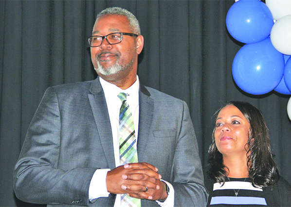 The Poughkeepsie City School District's incoming superintendent, Dr. Eric Rosser, was introduced to the community at Wednesday evening's school board session.