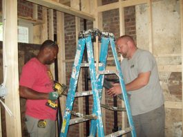 Habitat Newburgh is currently hard at work completing the gut-rehab renovation of brick row houses on Williams Street in the City of Newburgh. On October 5, 2019, the Organization will officially pass keys to the home buyer owners of houses 98, 99 and the landmark 100. The Dedication will be followed up with a Celebration at the nearby Armory Unity Center from 2-5 pm.