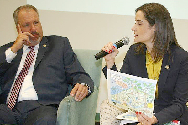 Following the two mass murders in El Paso and Dayton this past weekend, the issue of gun control was a last minute, but hot topic at a forum in Newburgh on Tuesday conducted by Cornerstone Family Healthcare.