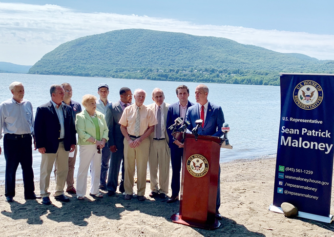 Rep. Sean Patrick Maloney (NY-18) recently joined leaders from across the Hudson Valley in celebrating the passage of the Coast Guard Authorization Act of 2019.