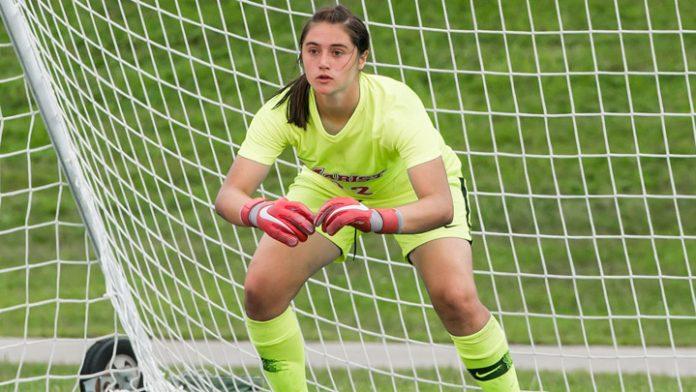 Marist junior goalkeeper Abigail Renaud made six saves in a shutout.