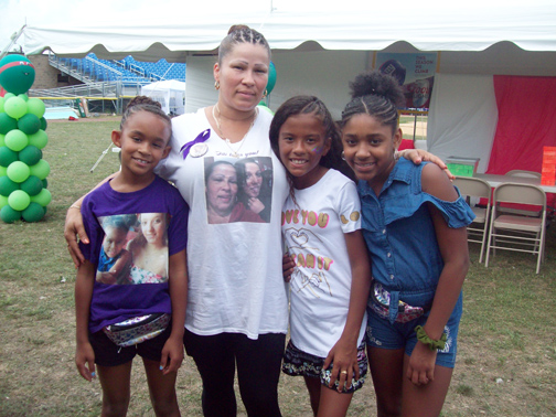 On Saturday, at Delano-Hitch Park, a large crowd turned out to celebrate the birthdays of Tabby Cruz and Omani Free, both of whom passed away three years ago. The day long event celebrates the memory of their beautiful, young lives, while offering a host of fun entertainment including; games, a bouncy house, magician, music, free food and much more.