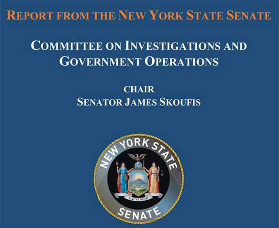The State Senate's investigation into code enforcement practices has been released finding a systemic failure to prioritize code enforcement at all levels of government.