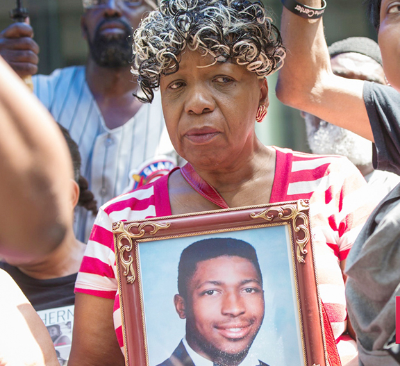 """The Department of Justice's failure to seek justice in the Eric Garner case is just the latest in a series of missteps with regard to civil rights. Our hearts go out to Garner's family as they suffer yet another blow in the ongoing tragedy of Garner's untimely death."""