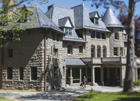The first American institution of higher learning to focus primarily on the relationship between humans and the environment, the College of the Atlantic in Bar Harbor, Maine became the first carbon-neutral college in 2007 and plans to be completely rid of fossil fuels on campus by 2030.