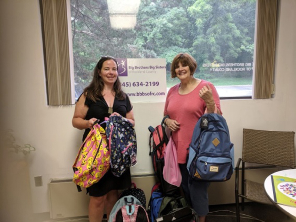 Big Brothers Big Sisters of Rockland County is pleased to partner, once again, with The Backpacks Foundation annual donation of backpacks to our various Littles.