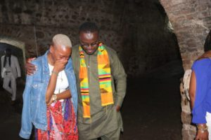 Emotions Run Raw during visits to Cape Coast Slave Castle & Assin Manso Last Bath River.