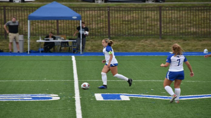 Senior Chrissy Cannella led the Mount with three shots on Saturday.