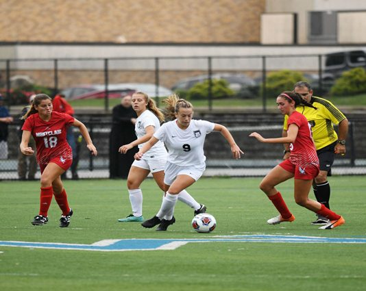 The Mount Saint Mary College Women's Soccer team opened the 2019 season on Saturday afternoon with a 3-0 loss to Roanoke in the opening game of the Roanoke Invitational.