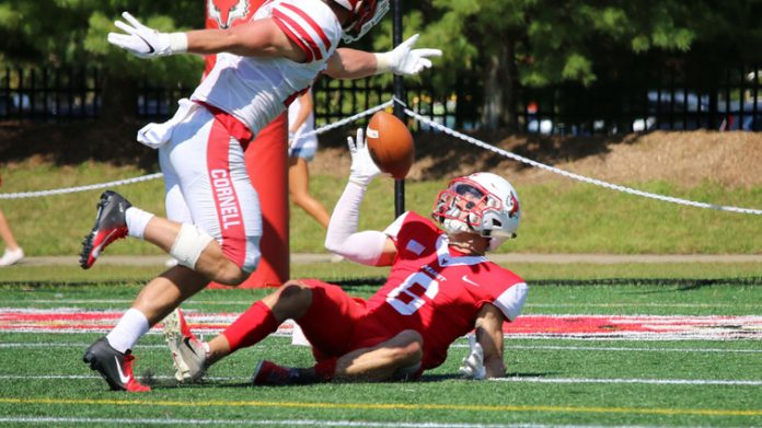 The Marist football team was defeated by Cornell on Saturday, 21-7, at Tenney Stadium on Homecoming & Reunion Weekend.