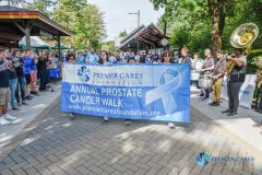 "Premier Cares Foundation held its 10th Annual Prostate Cancer Walk on Sunday, September 8th on the beautiful Walkway Over the Hudson State Park. Over 300 people and a few four-legged friends gathered to raise nearly $50,000 in support of the organization's ""Care"" Fund."