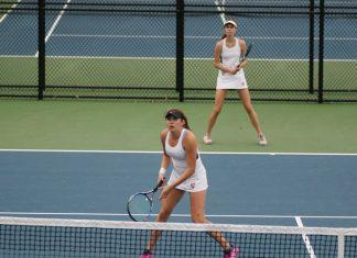 The Vassar College women's tennis team began play at the annual Intercollegiate Tennis Association (ITA) Northeast Regional Championships on Saturday.
