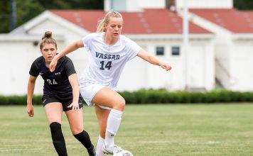 The Vassar College women's soccer team suffered a narrow 3-2 loss on Saturday afternoon, falling at Oneonta State in non-conference action.