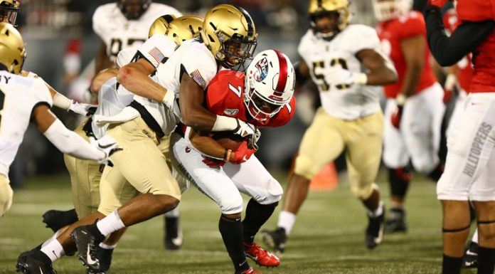 The Army West Point football team was defeated 17-8 on the road to Western Kentucky Saturday night.