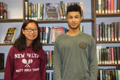 New Paltz seniors Emily Y. Wong-Pan (left) and Jaden Thomas-Markarian have been named Commended Students in the 2020 National Merit Scholarship Program.