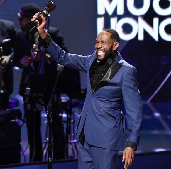 Freddie Jackson Receives the 2019 Black Music Honors Legend Award.
