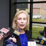 Senator Kirsten Gillibrand was briefed last Monday at the Stewart Air National Guard Base about the ongoing problem of water contamination from the base.