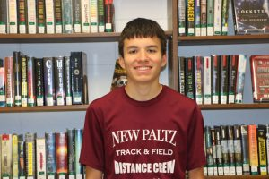 New Paltz senior Joseph Ayala has been named a 2019-2020 National Hispanic Scholar by the College Board's National Hispanic Recognition Program.