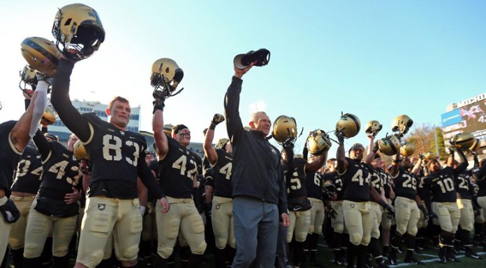 Seven different cadets found pay dirt as the Army West Point football team picked up a, 63-7, bounce-back win over UMass on Saturday at Michie Stadium.