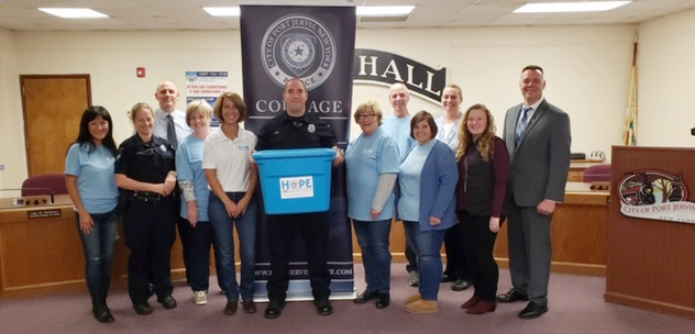 Port Jervis Police Department and Operation P.J. PRIDE community substance abuse prevention coalition are pleased to announce our participation in the Hope Not Handcuffs program. We are excited to be able to offer this resource to our community and open our front door as a first step in recovery from drug and alcohol addiction.