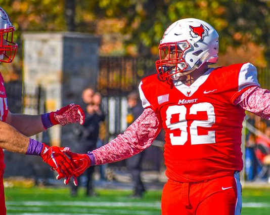 The Marist football team earned its second straight win on Saturday with a 37-27 triumph over Butler.