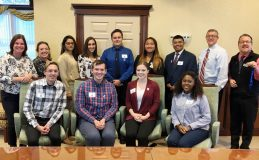 A new group of Mount Saint Mary College students were welcomed into the Walden Savings Bank Medici Program at a reception held in October.