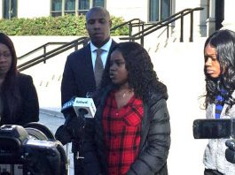 """The mother of teenage daughters, Jamelia Barnett and Julissa Dawkins, has alleged that her children were falsely arrested and brutalized by Poughkeepsie police officers who responded to a report of """"15 to 20 kids fighting"""" on March 11th of this year."""