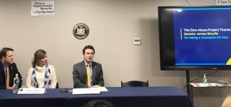 Senator James Skoufis (D-Hudson Valley) hosted a forum in the City of Newburgh about the Child Victims Act.