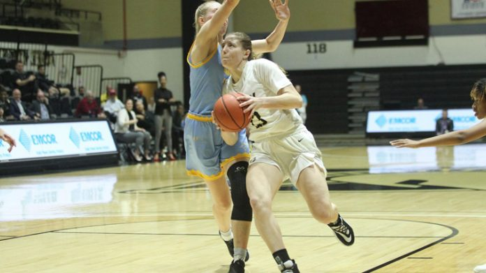 The Army West Point women's basketball team warded off a late fourth quarter surge from LIU Wednesday evening, eventually defeating the Sharks, 67-60, in overtime.