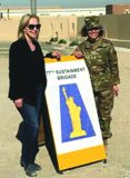 U.S. Senator Kirsten Gillibrand visited the troops in Afghanistan and Kuwait for Thanksgiving.