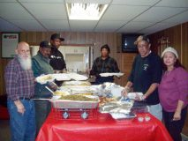Saturday, at the VFW Lodge on Main Street in Beacon, Hebron Lodge #48 Prince Hall Free and Accepted Masons held their Annual Thanksgiving Dinner event. For over thirty years, the , altruistic-aimed group has been preparing and serving turkey dinners, with all the trimmings, to community members in need. Some recipients came directly to the VFW to get their delicious meals personally handed to them for takeout; while others, who were homebound and located at senior housing developments, had their thanksgiving meals delivered. The popular and much needed holiday tradition provided hot, homemade meals made with care and love to over 200 community members.