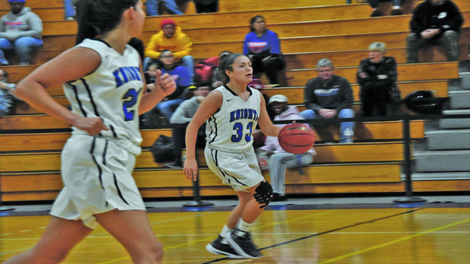The Mount Saint Mary College Women's Basketball team cruised to its fifth straight victory on Saturday afternoon as the Knights defeated Purchase 79-34 at the Kaplan Center. Sophomore Annie Keenan and junior Morina Bojka each scored 14 points to lead a balanced scoring attack for the Mount.
