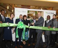 Ribbon cutting to officially open the Healthfirst retail location at the Galleria at Crystal Run in Middletown. Pictured Left-Right: Roland Foster, Healthfirst; Liz Redner, Healthfirst; Ricky Pafundi, Healthfirst; Darcy L. Shepard, CEO, Middletown Medical; Errol Pierre, Healthfirst; Bill Scesney, AVP Montefiore Health System; Lazare Pouani, Healthfirst; and Kyle Russo, Practice Manager, Cross Valley Health.