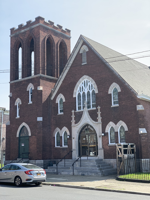 Baptist Temple Church in Newburgh Receives Sacred Sites Grant of $6,000.