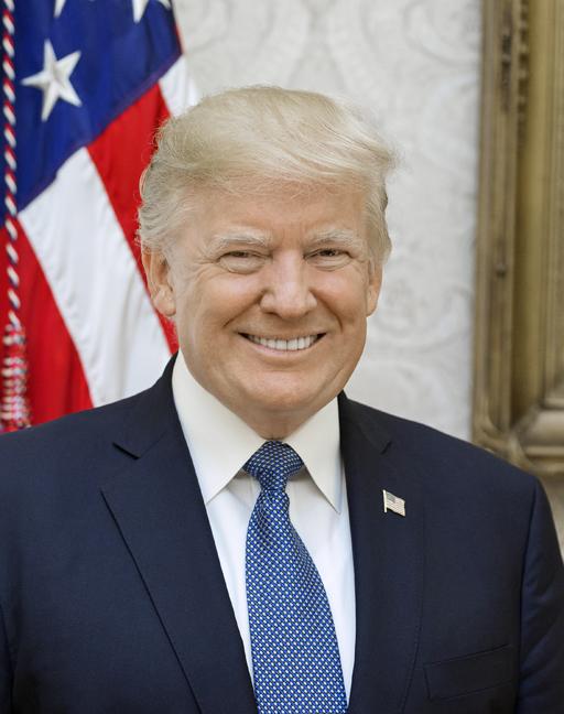 President Donald J. Trump. White House photo: Shealah Craighead